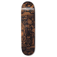 """FTC   FTC x MIKE GIANT DECK """"BLACK/GOLD - 7.75inch"""" (FTC020AWSK01)"""