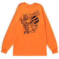 COCOLO BLAND / DANCE WITH YOU TILL DEATH L/S TEE(ORANGE)