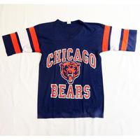 USED (古着)CHICAGO BEARS  Tシャツ(ブルー/オレンジ)
