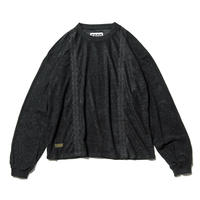 Tightbooth / ENCORE SUEDE TOPS (BLACK)