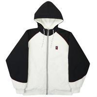 YARDSALE / Reversible Jacket (White/Black/Lilac)