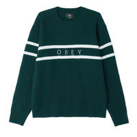OBEY | Roebling Sweater (DARK GREEN)