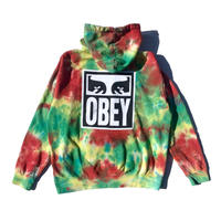 OBEY | OBEY EYES ICON HOODIE (RAINBOW BLOCH)