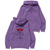 XLARGE|HAVE A WILD TIME HOODED SWEAT (LtPURPLE)