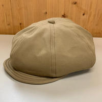 Oh!theGuilt : HAND MADE CASQUETTE by BROWNIE HOME MADE(ベージュ)