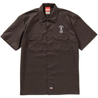 COCOLO BLAND / #556 WORK SHIRTS (DARK BROWN)