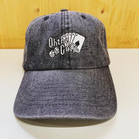 "Oh!theguilt | ""GR LOGO ""6P CAP (ブラックデニム)"