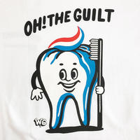 "Oh!theGuilt / W.C Johnny 004:""Mr. Tooth"" L/S T-SHIRT(ホワイト)"