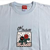 "Oh!theGuilt  / 5el 001 ""MUSIC FLOWER"" T-SHIRT(ライトブルー)"