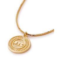 "FTC | FTC COIN NECKLACE ""GOLD PLATED"" (FTC020CMA01)"