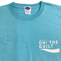 """Oh!theGuilt / timeforlivin' LIMITED:""""PS LOGO """" S/S T-SHIRT(アクアブルー)"""