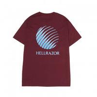 HELLRAZOR / GEL LOGO SHIRT (BURGUNDY)