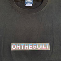 "Oh!theGuilt / ""8-bit ""LOGO L/S T-SHIRT(ブラック)"