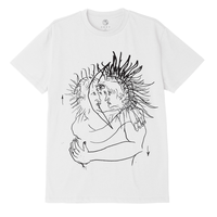 OBEY |SUN & MOON S/S(WHITE)