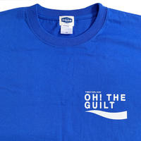 """Oh!theGuilt / timeforlivin' LIMITED:""""PS LOGO """" S/S T-SHIRT(ロイヤルブルー)"""