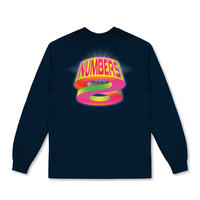 NUMBERS EDITION / INFINITE GLOW - L/S T-SHIRT (NAVY)