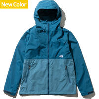 THE NORTH FACE | COMPACT JACKET (JS/ジュニパーティル×ストームブルー)
