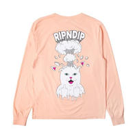 RIPNDIP | MIND BLOWN L/S (PEACH)