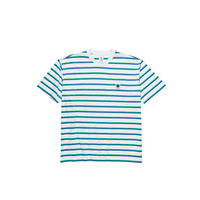 POLAR SKATE CO. / STRIPE POCKET  TEE (WHITE)