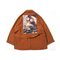 Tightbooth / FORTRESS WOOL JKT (ORANGE)