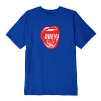 OBEY | SCREAMIN S/S TEE (BLUE)
