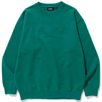 XLARGE|EMBOSSING STANDARD LOGO CREWNECK SWEAT(GREEN)