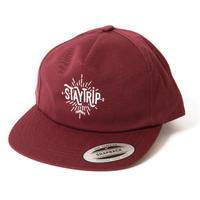 430   STAYTRIP PANEL CAP (BURGUNDY)
