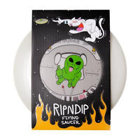 RIPNDIP | PHONE THIS GLOW IN THE DARK FLYING SAUCER (GREEN)
