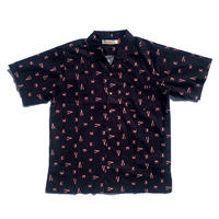 ambsn | Crusty Party S/S Shirts (Black)
