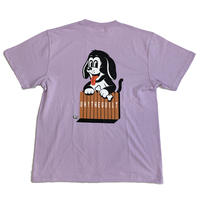 "Oh!theGuilt | W.C Johnny 007 : ""DOGGY"" S/S T-SHIRT (ライトパープル)"