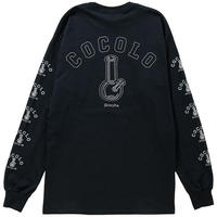 COCOLO BLAND / REFLECTOR BONG SLEEVE L/S TEE(BLACK)