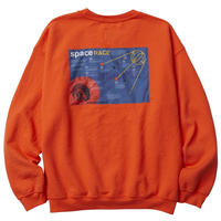 LIBERAIDERS LR SPACE RACE CREWNECK(orange)