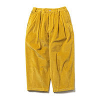 TIGHTBOOTH / CORD BAGGY PANTS (Mustard)