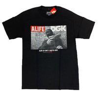 ALIFE | DGK  S/S Tシャツ(ブラック)