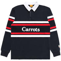 Carrots by Anwar Carrots | WORDMARK STRIPED RUGBY (NAVY)