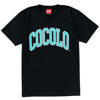 COCOLO BLAND / COLLEGE LOGO S/S(BLACK)