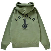 COCOLO BLAND / BACK BONG HEAVY HOODIE (OLIVE)