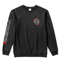 NUMBERS EDITION / N.E. - FLEECE CREW (BLACK)