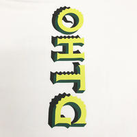 "OHTHEGUILT / DF.SQEZ 007 ""SCREEN PRINT"" T-SHIRT(ホワイト)"