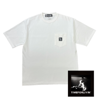 Time For Livin′ / GRAB YOUR MIC S/S TEE (WHITE)