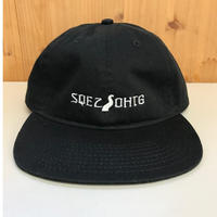 """OHTHEGUILT / DF.SQEZ 010 """"6P CAP"""" (ブラック)"""