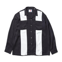 SON OF THE CHEESE | bowling shirt (BLACK)