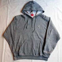 "Oh!theGuilt:""DS""HALF ZIP HOOD SWEAT(ヘザーグレー)"