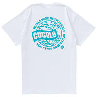 COCOLO BLAND / WORLD WIDE S/S TEE (WHITE)