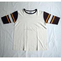 USED (古着)WALLA WALLA SPORT  Tシャツ(ホワイト/ブラウン))