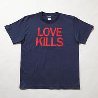"Oh!theGuilt | ""LOVE KILLS"" S/S T-SHIRT(インディゴ)"