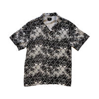 OBEY | GATEKEEPER WOVEN S/S SHIRTS (BLACK)