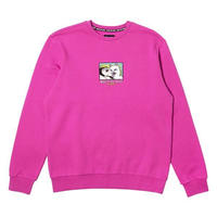 RIPNDIP | LADY FRIEND CREWNECK SWEATER (PINK)