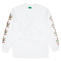 Carrots by Anwar Carrots | HOP OUT LONG SLEEVE (WHITE)