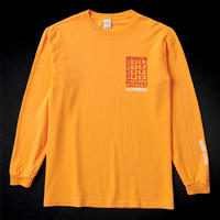 NUMBERS EDITION / PSYCHIC READER - L/S T-SHIRT (GOLD)